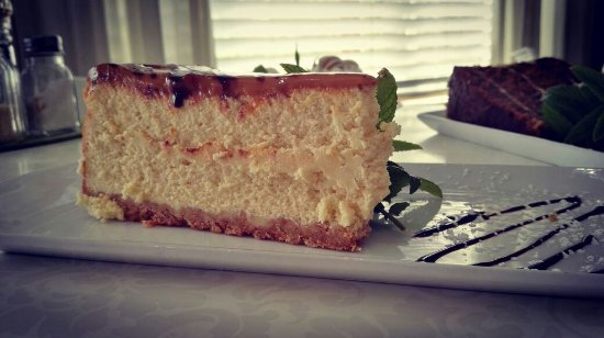 Klapmuts, South Africa: Baked Cheesecake