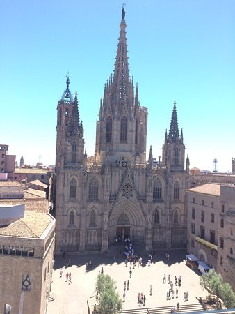 Colon Hotel: The best view from any hotel I have been in. We asked for a higher floor based on the recommenda