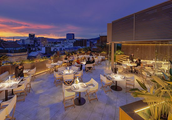 Terraza De Noche Picture Of Mood Rooftop Bar Barcelona