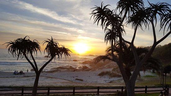 Pôr do sol em Camps Bay - julho 2017
