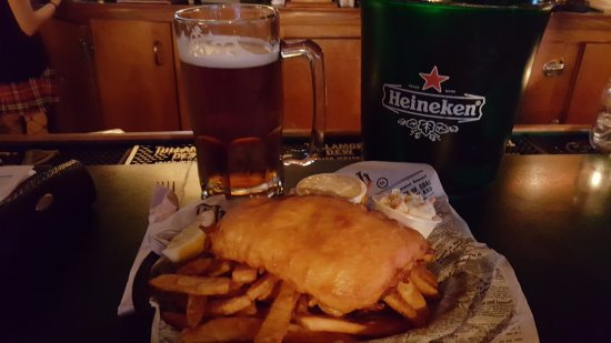 Loves Park, IL: Fish & Chips with a side of slaw
