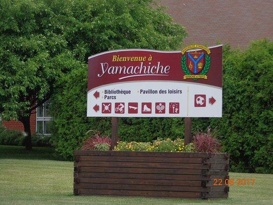 Chegando a Yamachiche