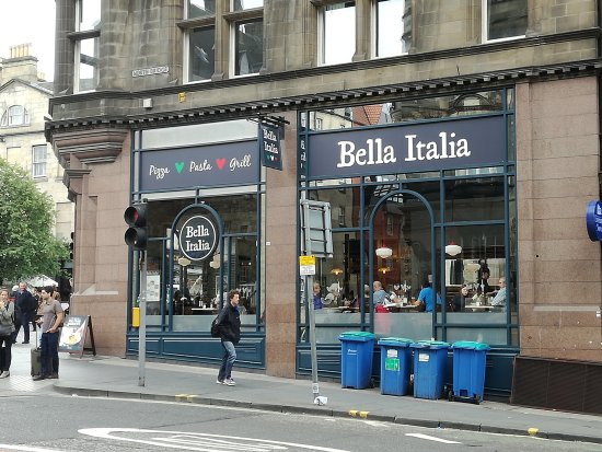 Been to Bella Italia Edinburgh Royal Mile? Share your experiences!