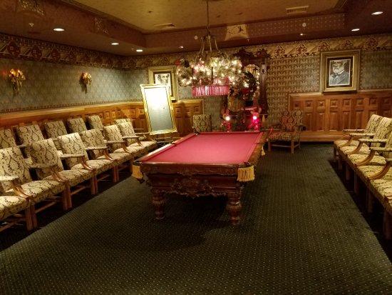 แบรนสัน, มิสซูรี่: Pool table in rest room