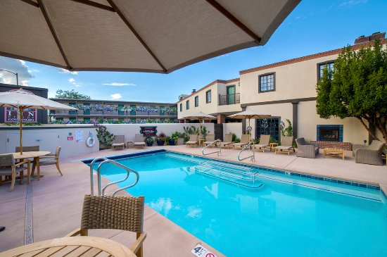 Inn of the Governors: outdoor heated pool