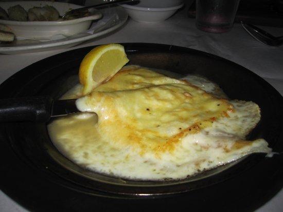 Christos Greek Restaurant: Right off the burning