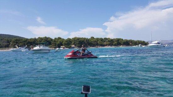 Arbanija, Croazia: Jet ski Safari - Blue Lagoon 😎😎☀️🌊
