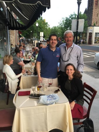 Morristown, Nueva Jersey: outdoor dinng