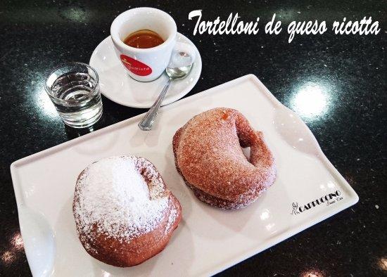 Cappuccino Grand Cafe: Tortelloni de queso ricotta