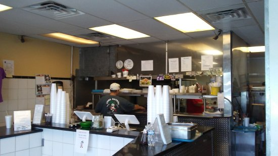 Chino Bandido: kitchen area