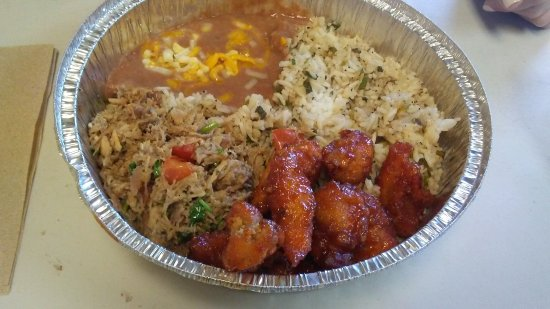 Chino Bandido: lunch items