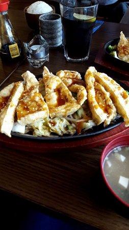 Dundalk, Irland: Teriyaki tofu steak