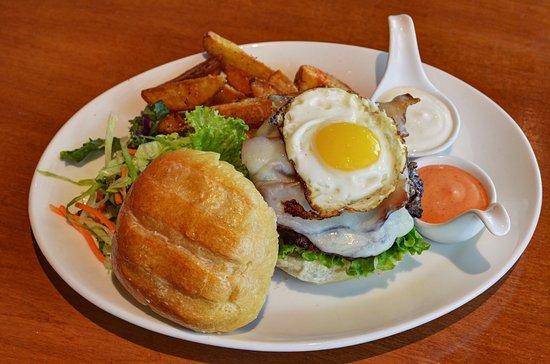 Suwanee, GA: Our delicious signature Lamb Burger