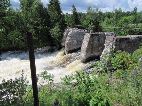 Eganville, Canada: The chutes