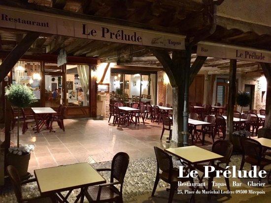 Mirepoix, Frankrike: Notre Terrasse !