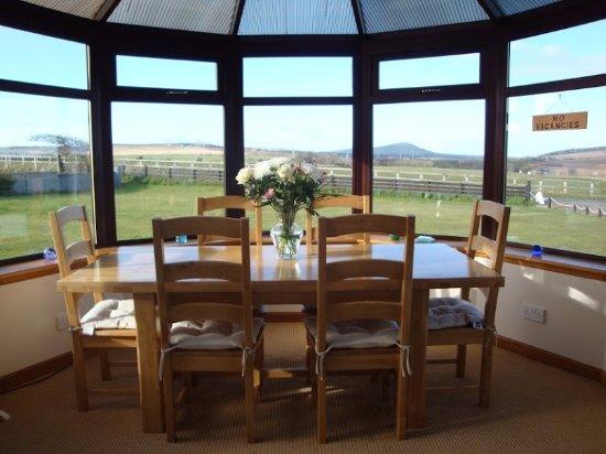 Portsoy, UK: Conservatory Dining