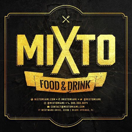 Miami Springs, FL: Mixto Food and Drink