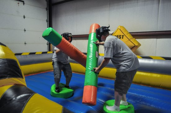 Idaho Falls, ID: We are an Indoor Inflatable and Trampoline Park. We jump for less than the competition!