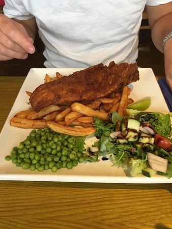 Maentwrog, UK: Fish and Chips
