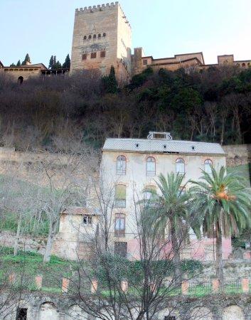 Andalusia, AL: Hotel Reúma and view of Alhambra in Granada © Robert Bovington