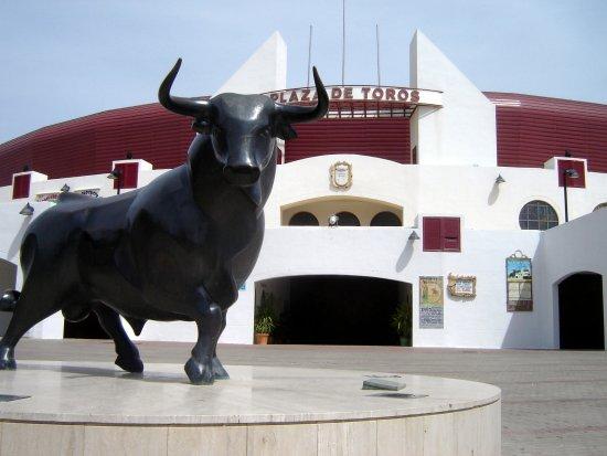 Andalusia, AL :   Plaza del Toros, Roquetas de Mar (Almería) © Robert Bovington