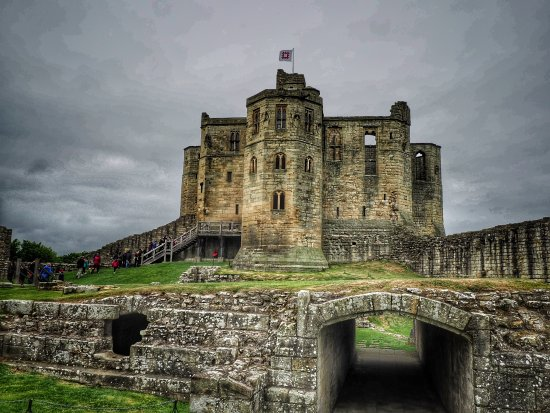 Warkworth Castle & Hermitage