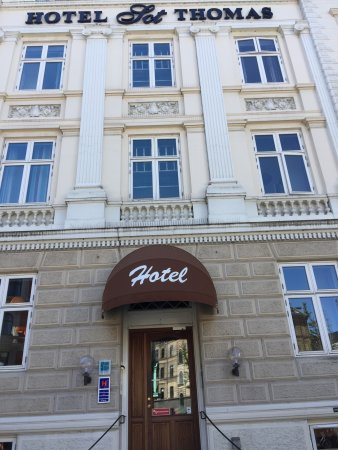 Hotel Sct. Thomas: Front of hotel