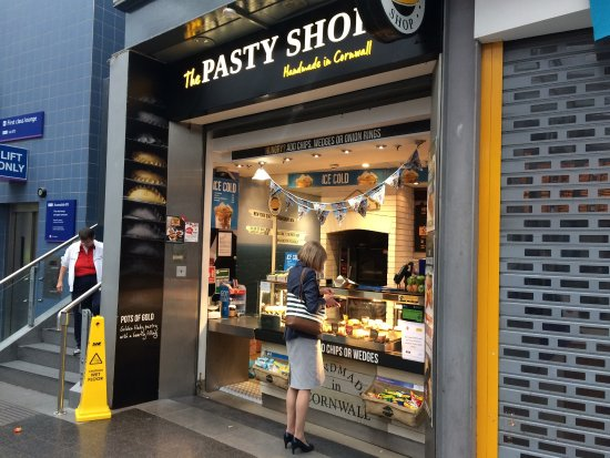 The Pasty Shop Manchester Manchester Piccadilly Sta
