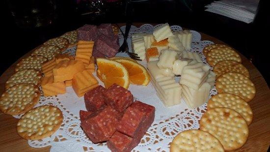 Newbury, Ohio: Cheese plate