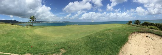 The Buccaneer St Croix: View from 3rd green