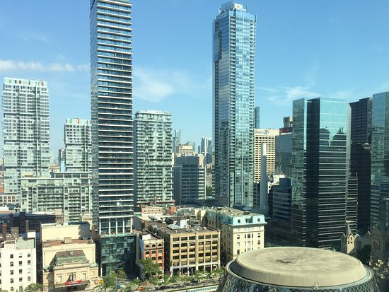 The Ritz-Carlton, Toronto: The view from our room