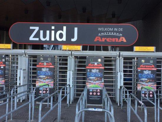 Amsterdam ArenA : ENTRADA DA ARENA AMSTERDAM
