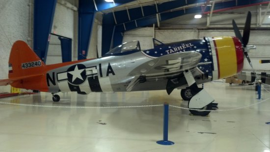 Lone Star Flight Museum: P-47