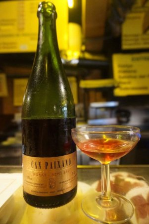 The pink cava! Enjoy a bottle (or two)!