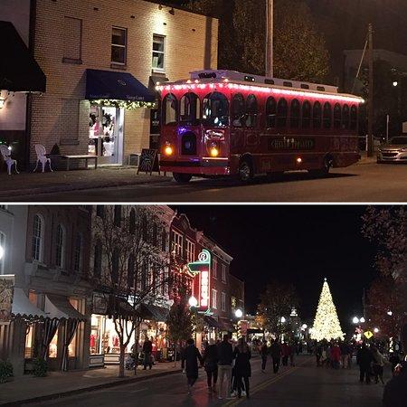 Franklin Holiday Lights Tour O Trolley Tn