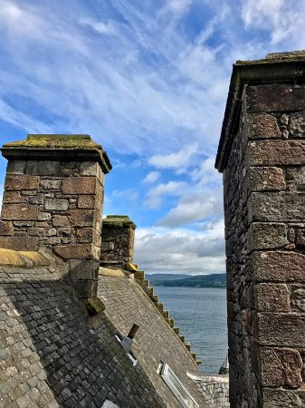 Port Glasgow, UK: View from the top