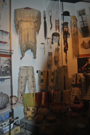 Roswell Museum & Art Center: Western Display, Rosell Museum & Art Gallery