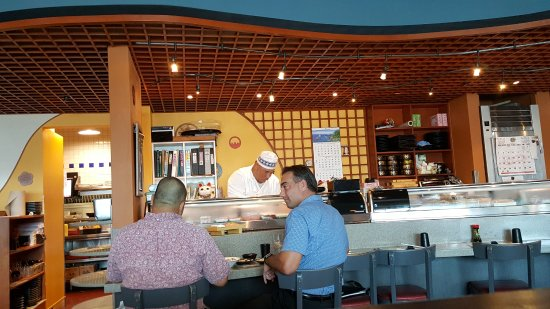 Pearl City, هاواي: Sushi chef