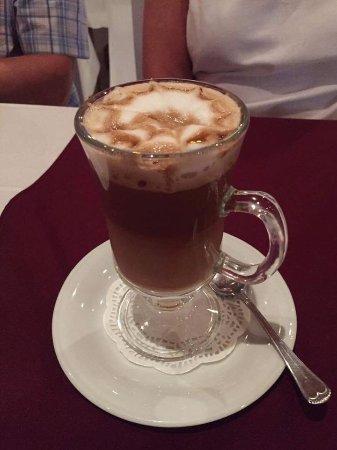 Episkopi, Cypr: Baileys coffee.