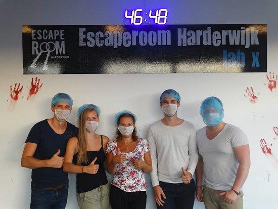 Harderwijk, The Netherlands: ken ik niet, maar ze zijn gemaskerd dus....