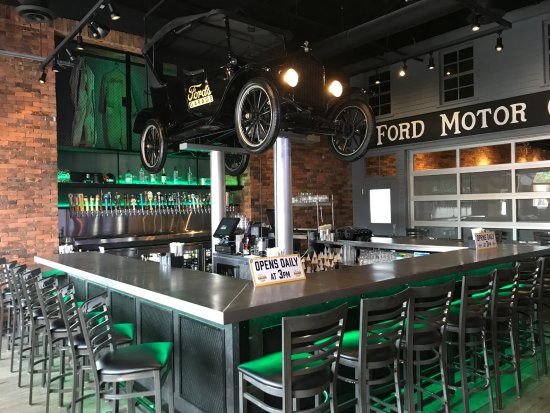 Happy Hour Bar Picture Of Ford S Garage Dearborn