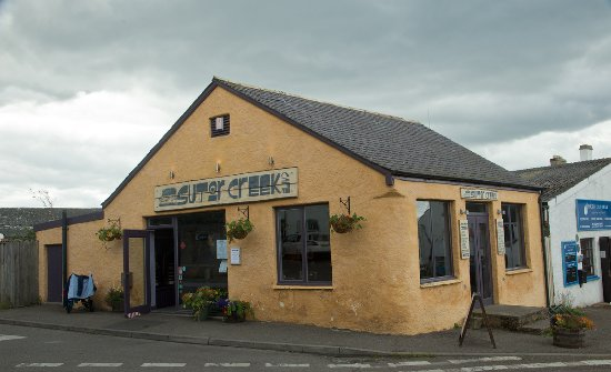 Cromarty, UK: The exterior of this restaurant hides an excellent interior.