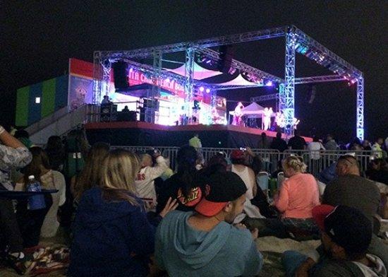 Santa Cruz Beach Boardwalk Smashmouth Concert On The