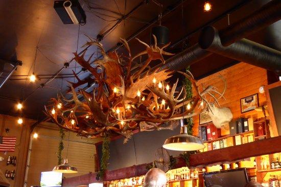 Healy, AK: 49th State Brewing Company full bar, lodge feel