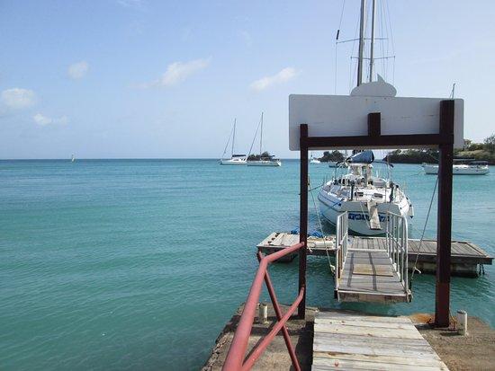 Dodgy Dock Restaurant and Lounge Bar: Dodgy Dock itself!
