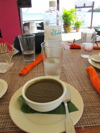 Dodgy Dock Restaurant and Lounge Bar: Callaloo Soup