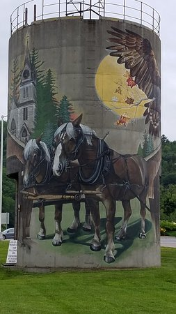 Granville, VT: Smuggler's Notch Vermont Silo Tower #1
