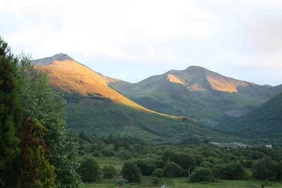 North Ballachulish, UK: View from studio 1