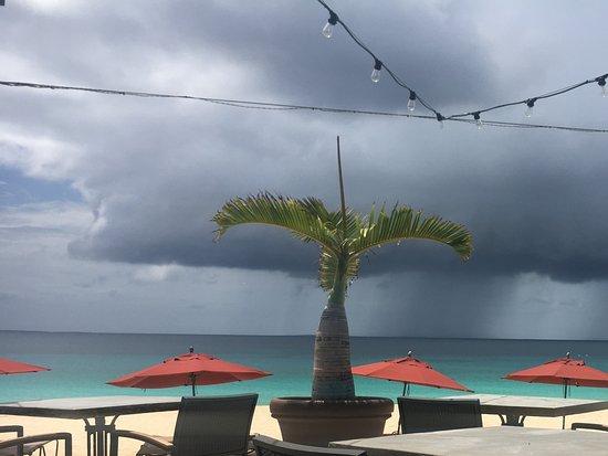 West End Village, Anguilla: Beautiful patio