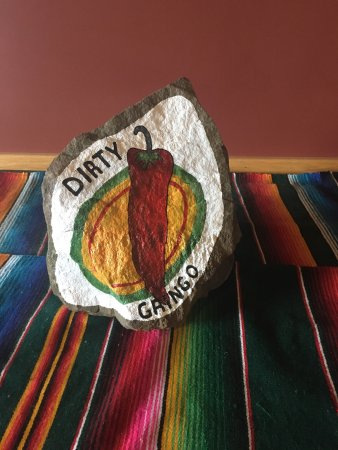 Ogdensburg, Estado de Nueva York: One of our customers painted this rock for us😀
